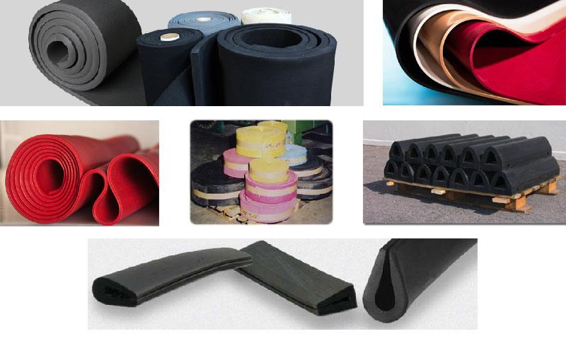 Adaptation - Large gamme feuille caouchouc industriel